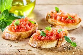 Bruschetta* pomodoro & basilico